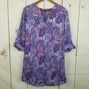 Talbots Tunic Dress Cover-up Size Small